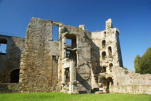 Hunaudaye Castle; castle Brittany