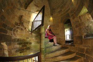 Hunaudaye trap; kasteel Bretagne