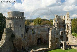 Kasteel Hunaudaye; kasteelruine; kasteel Bretagne