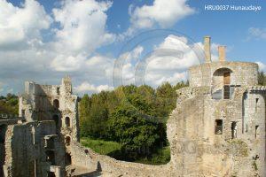 Kasteel Hunaudaye; kasteel Bretagne; kasteelruine