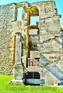 Hunaudaye Castle; kasteel Bretagne