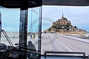 Le Mont-Saint-Michel; rotseiland Frankrijk; kerk Normandie; eiland Normandie