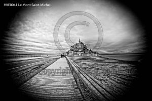 Le Mont-Saint-Michel; abbey Normandy; island France; church France