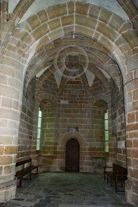 Kamer Le Mont-Saint-Michel; eiland Normandie; abdij Frankrijk