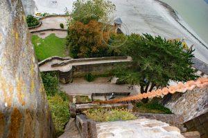 Lift Le Mont-Saint-Michel; tredmill Le Mont-Saint-Michel