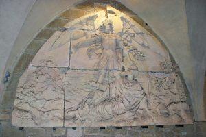 Le Mont-Saint-Michel; Saint-Michel; eiland Normandie; abdij Frankrijk